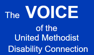 Alt text=The voice of the UMC Connection on blue background